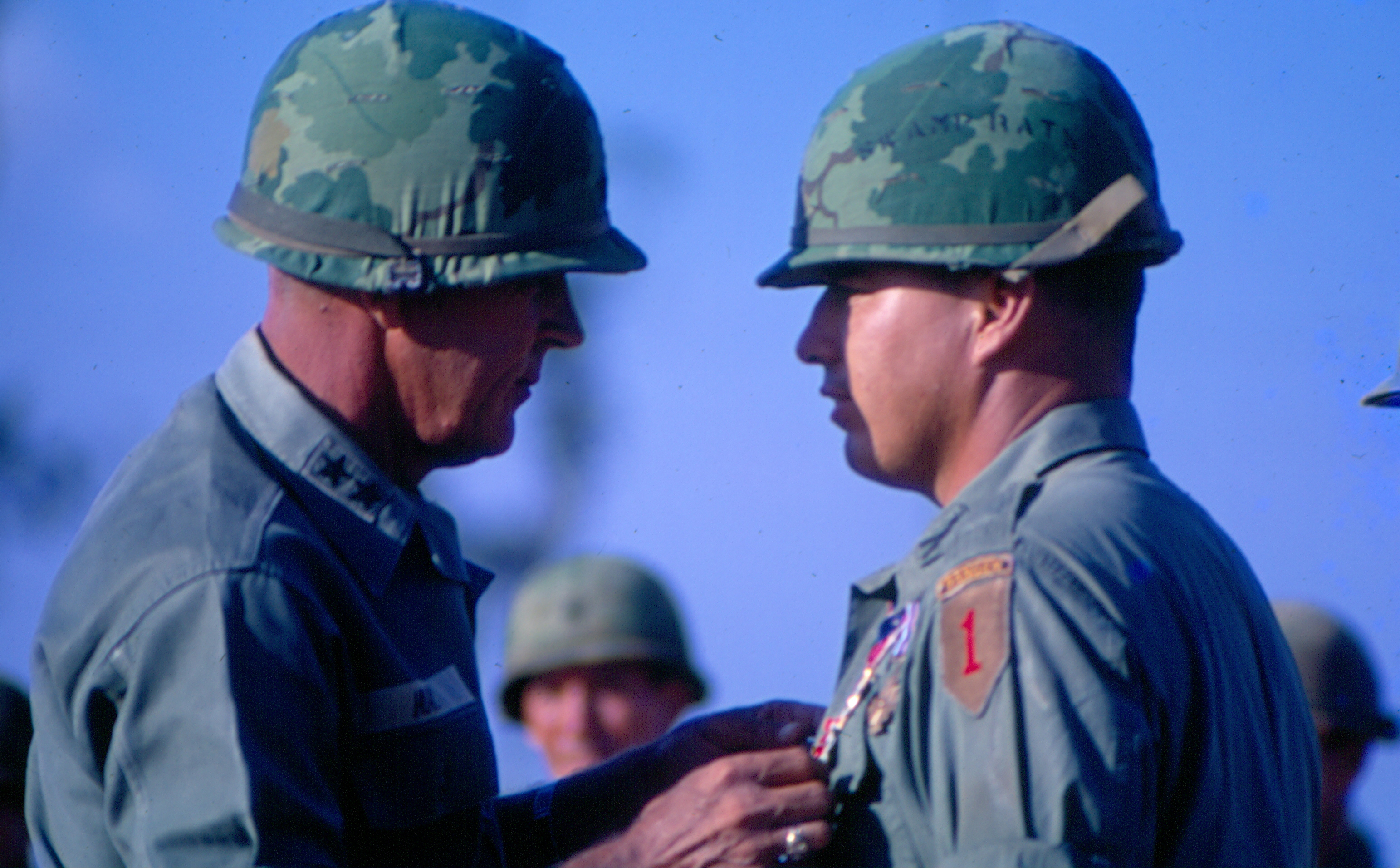 Gen. Hay and then Lt. Col. Richard Cavazos Vietnam